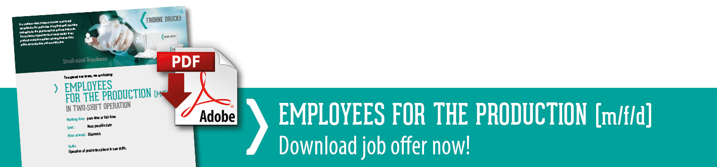 Download link for the job offer employees for the production